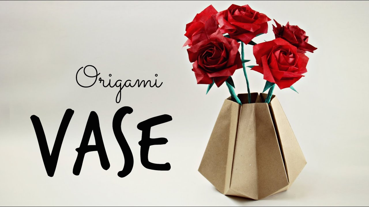 How To Make An Origami Vase Tadashi Mori