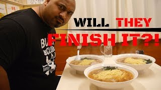 Japans Toughest Food Challenge With Bad Luck Fale