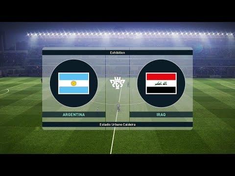 Download Argentina vs Iraq 4-0   All Goals & Highlights 2018 HD