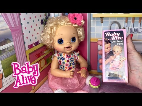 Baby Alive Vintage Baby Alive Food Feeding And Changing Baby Alive Video