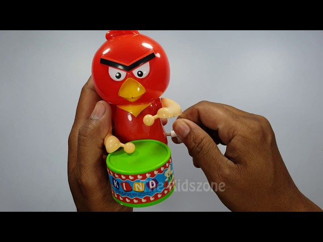 Angry Bird Playing Marching Band Fun And Interesting Toys For Kids