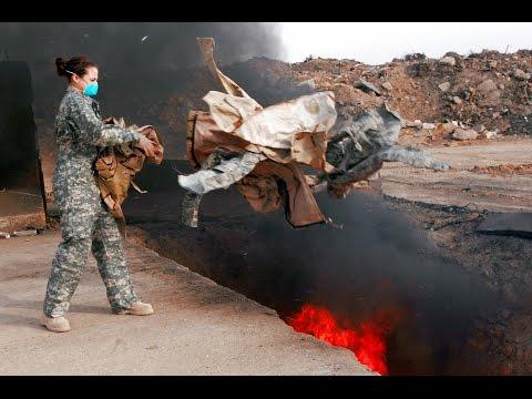 Did military burn pits make soldiers sick? Mp3