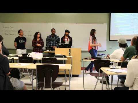Sex Trafficking -group presentation- College