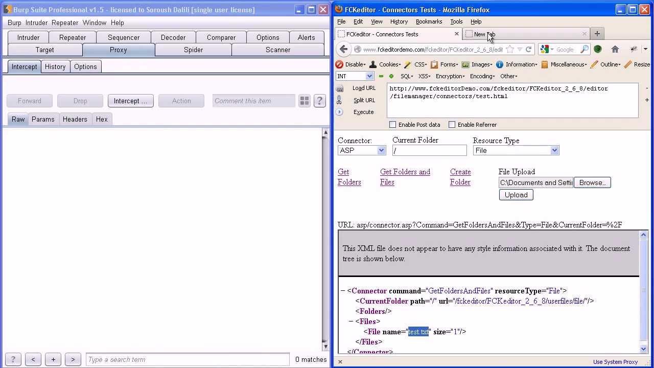 FCKEditor v2 6 8 (ASP) Arbitrary File Upload Vulnerability - Presented in  HackPra Nov 2012