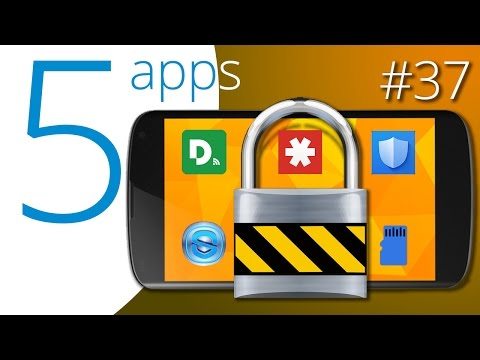 The five best security apps
