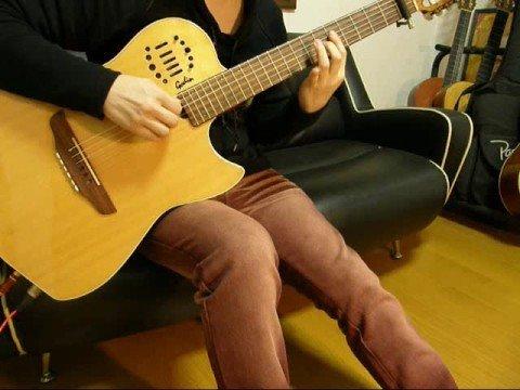 "Card Captor Sakura 3rdOP""Platinum"" on guitar"