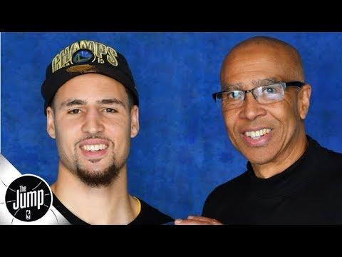 Klay Thompsons dad says Klay will return late next season | The Jump
