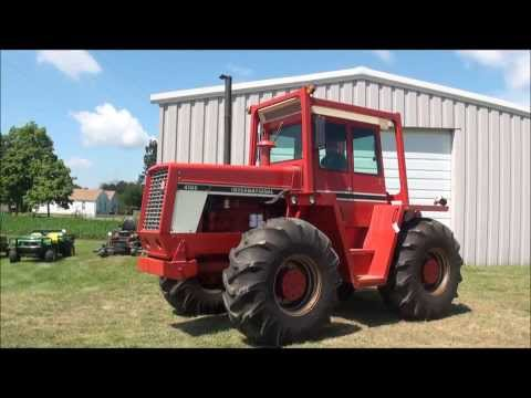 Lot 188.  International Harvester 4186 Tractor  @ http://www.AuctioneersNow.com