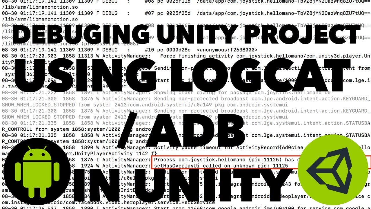 How to Use ADB/ Logcat (Android Debug Bridge) with Unity in Mac