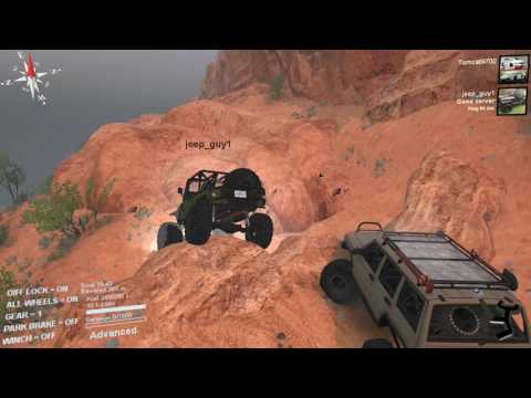 Spin Tires | Tomcat and JeepGuy vs MOAB! No Flip Challenge? Multiplayer with Mods