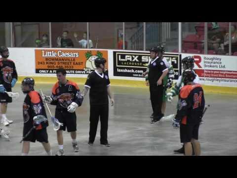 Green Gaels vs Mississauga Tomahawks GM3