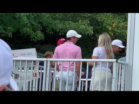 2019 Fed Ex Cup Crowd Gawks At Brooks Koepka, Rory McElroy