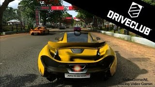 DriveClub (PS4) Gameplay - Online Multiplayer Fun! - McLaren P1 Race Gameplay @ India - Review PS4