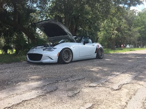 The worst noises you will ever hear from a ND Miata!