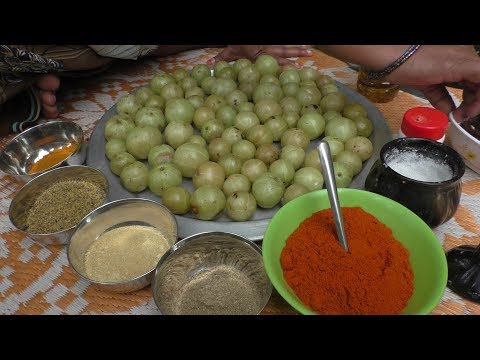 village Cooking nellikka achar - nellikai pickle / Cooking By Village food Recipes