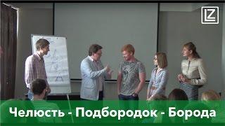 Челюсть - Подбородок - Борода - Интегральное Лицечтение - Физиогномика - Леонид Золин