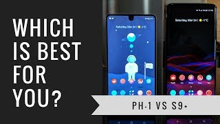 Essential Phone vs Galaxy S9 Plus