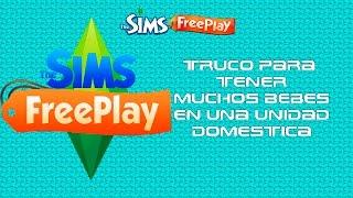 Sims Free Play truco para tener muchos Bebes