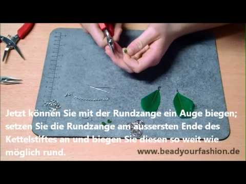 schmuck herstellen diy projekt 11 feder ohrringe herstellen youtube. Black Bedroom Furniture Sets. Home Design Ideas