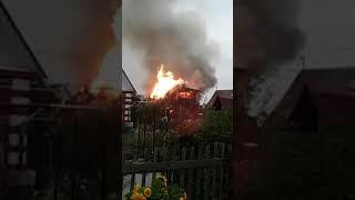 Пожар в СНТ Магистраль (20.09.2017)