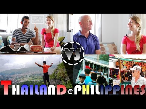 LIVING IN THAILAND VS PHILIPPINES Interview (ADITL)