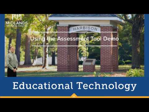 D2L Brightspace V10.7 Daylight Using Assessment Tool Demo