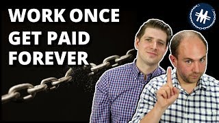 Work Once Get Paid Forever | Passive Income vs Earned Income