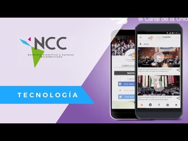 El Congreso de México lanza su aplicación