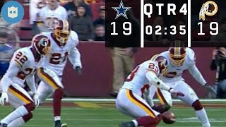 The Craziest Game-Winning Field Goal Sequence in NFL History! (Cowboys vs. Redskins Week 9, 2006)
