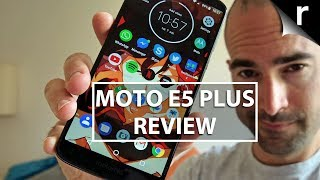 Moto E5 Plus Review | Better value than the G6?