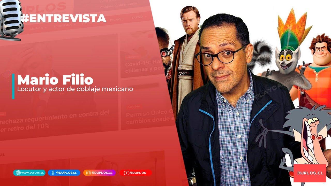 #Entrevista   Mario Filio