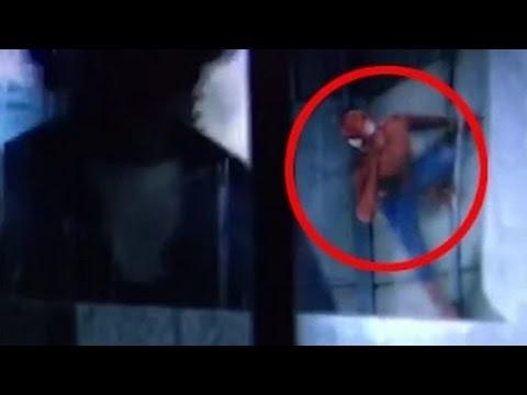 avengers 2 post credits scene spider man frmovies. Black Bedroom Furniture Sets. Home Design Ideas