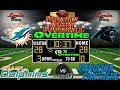 2017 LIVE! NFL Analysis | Dolphins vs. Panthers WK 10 | MNF OVERTIME #LouieTeeLive
