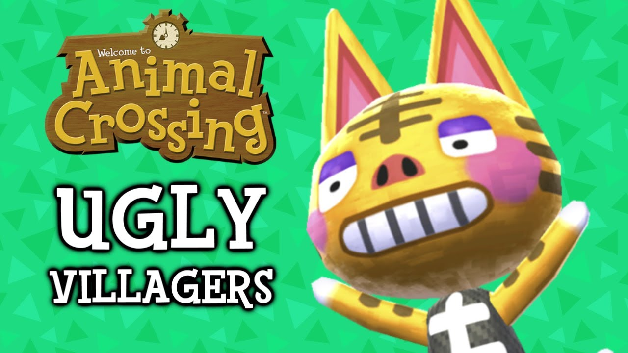 The 25 Ugliest Animal Crossing Villagers Youtube