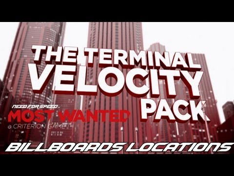 Need For Speed Most Wanted 2012 - Terminal Velocity Billboards