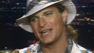 """In july 1986, david lee roth talked to cnn's larry king about releasing his first solo album without van halen called """"eat them and smile."""""""