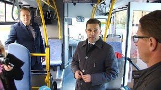 Презентация автобуса на метане
