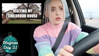 Visiting My Childhood House & Learning to Drive Again | Vlogmas Day 21