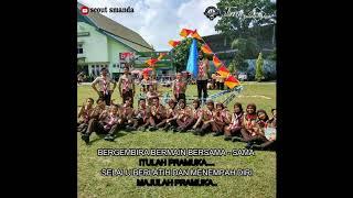 """wow keren Bocah Ngapa yak versi pramuka """"mari pramuka""""official lyric"""
