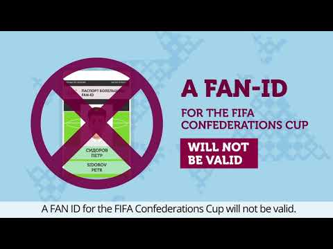 How to get  ID for FIFA World Cup 2018 in Russia?