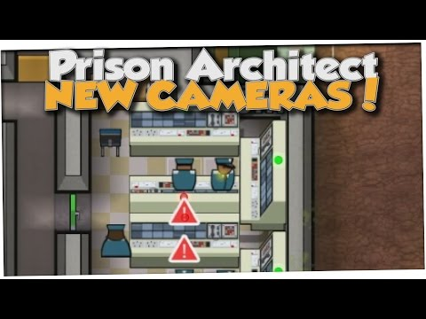 Prison Architect - SECURITY CAMERAS EVERYWHERE! (Gameplay Part 4)