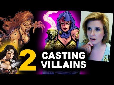 Wonder Woman 2 Sequel - Casting Villains