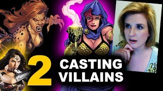Wonder Woman 2 Sequel - Casting Villains