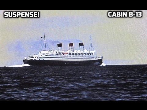 "Suspense! - ""Cabin B-13"" 11/09/43 (HQ) Old Time Radio Thriller"
