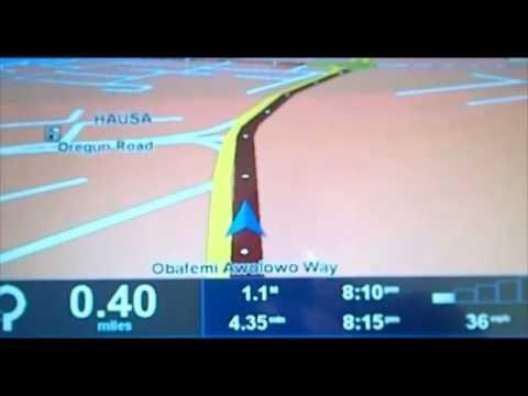 Car GPS Navigation for NIGERIA cities
