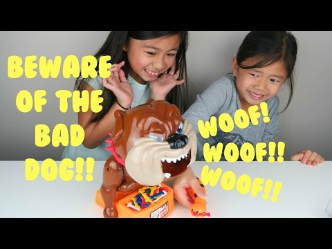 Family Fun Game BEWARE of the Bad Barking Dog Game by TONOR