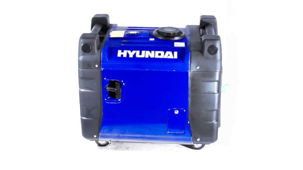 Hyundai HY3600SEi 3 4kW Electric Start Inverter Generator