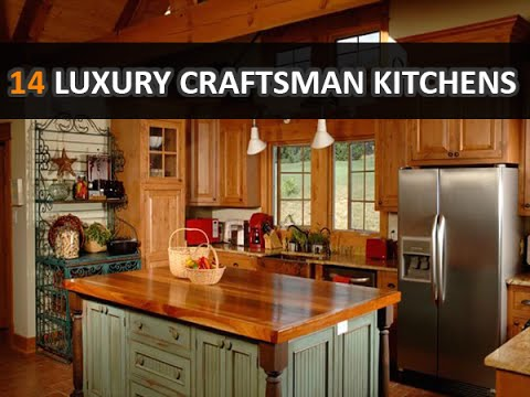 craftsman kitchen design. 14 Wooden Luxury Craftsman Kitchens Design Ideas  DecoNatic YouTube