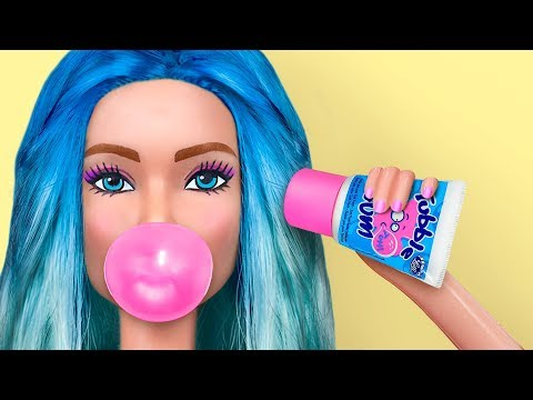 8 Tiny Candies For Barbie That You Can Actually Eat  Clever Barbie Hacks And Crafts