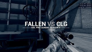 ESL Pro League Season 5 week 10: FalleN vs CLG